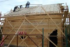строительство крыши дома утепление