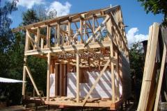 строительство крыши каркасного дома