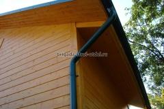 строительство крыши дома водосточная система