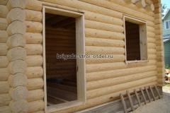 обсада - окосячка  проемов в деревянном доме